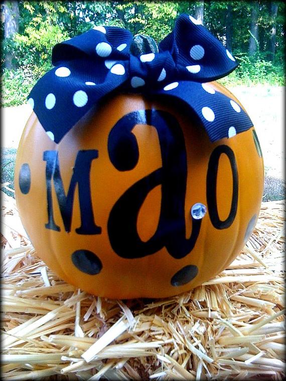Pumpkin Decorating Miss Glam Dan