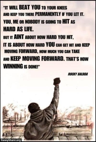 FunnyShare.org - Rocky Balboa Quote funny pics